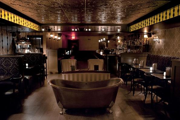 Bathtub Gin – hemlig bar med badkar i New York