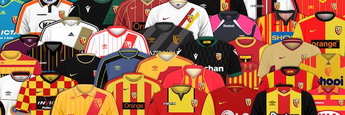 L'historique des maillots