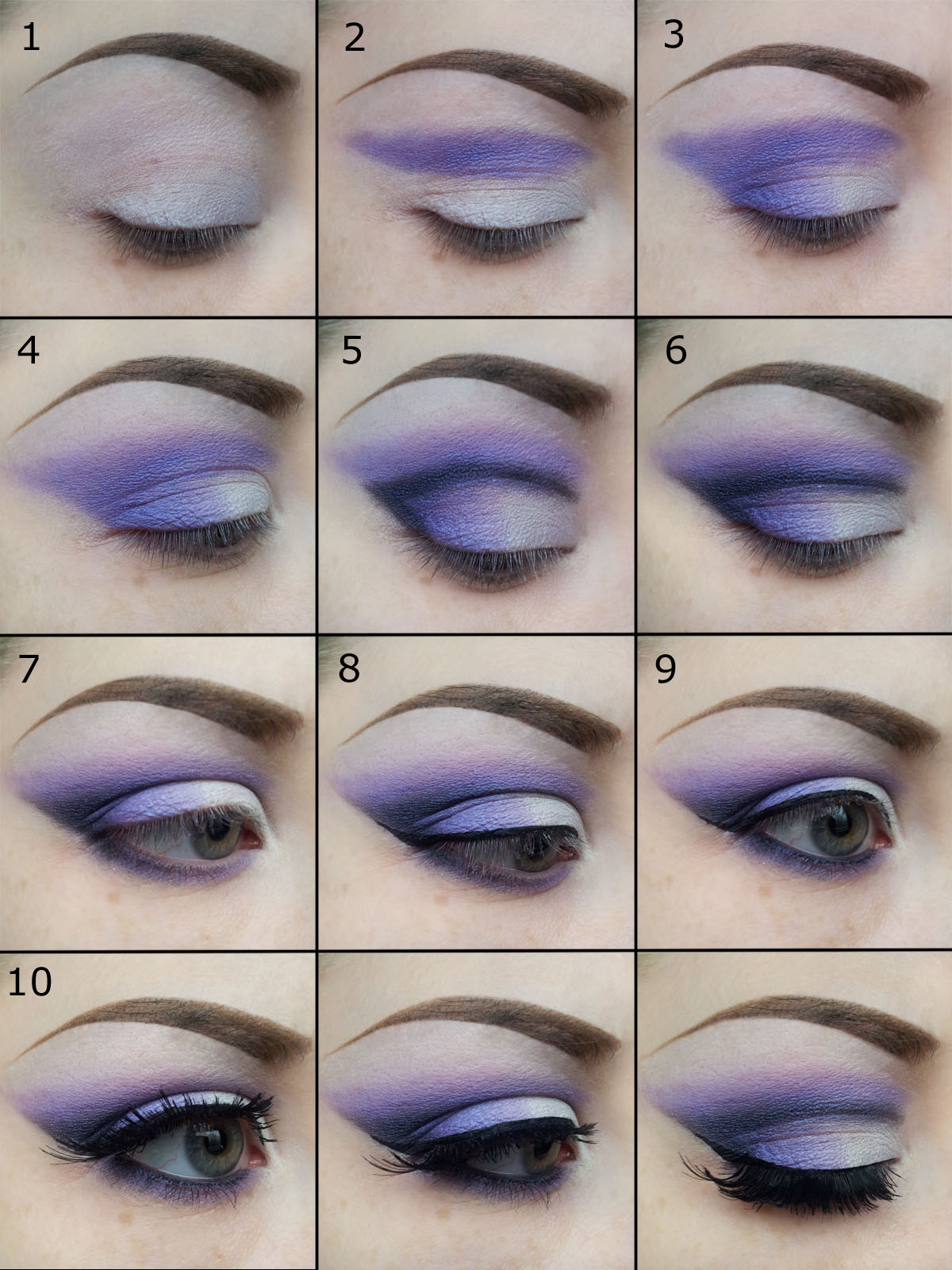 Purple Eyeshadow Tutorial: Make It All Up: A Purple Look Tutorial