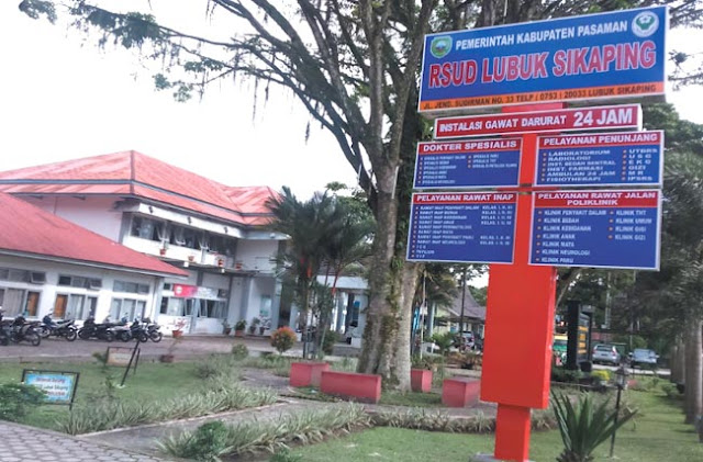 RSUD Lubuk Sikaping, Kabupaten Pasaman