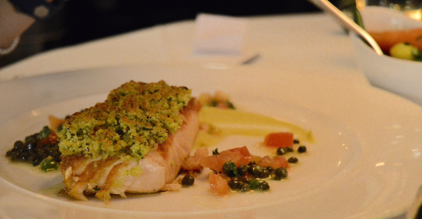 Celebrate Christmas at Newcastle Gusto  - Salmon main