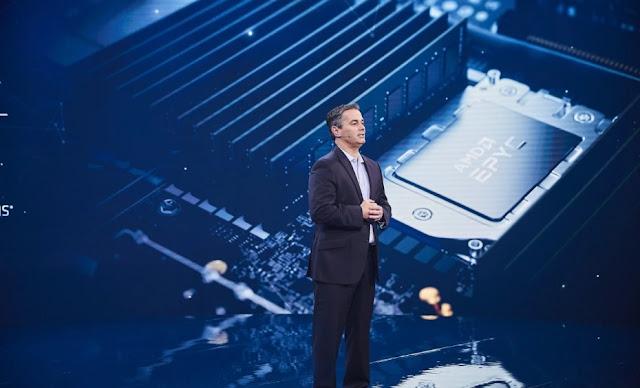 AMD تطلق الجيل الثالث من معالجات Epyc لمراكز البيانات