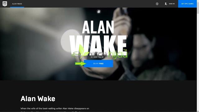 Alan Wake Halaman giveaway - Tech Hijau™