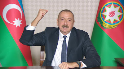 'If not peace, let it be war': Aliyev says
