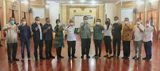 Wakil Bupati Simalungun Terima Kunjungan kerja Komisi A DPRD Sumut.