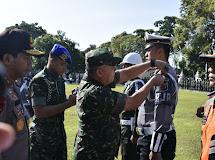 Pangdam XIII/Merdeka Kompak bersama Forkopimda Sulut Hadiri Apel Gelar Pasukan Operasi Ketupat Samrat 2019