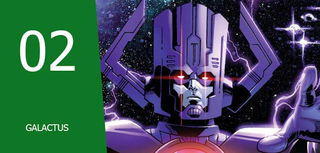 galactus vs Musuh-musuh Fantastic Four,