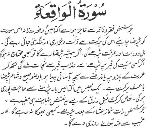 surah-waqiah-ki-fazilat-in-hadees