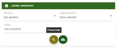 Jadwal Puasa Kota-Kota Lain di Indonesia