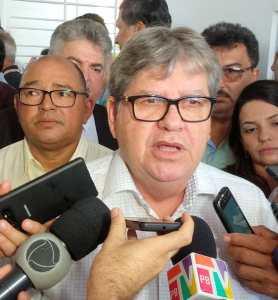 de imprensa João Azevêdo convoca coletiva de imprensa para esta segunda-feira 23  para falar sobre desdobramentos da Operação Calvário