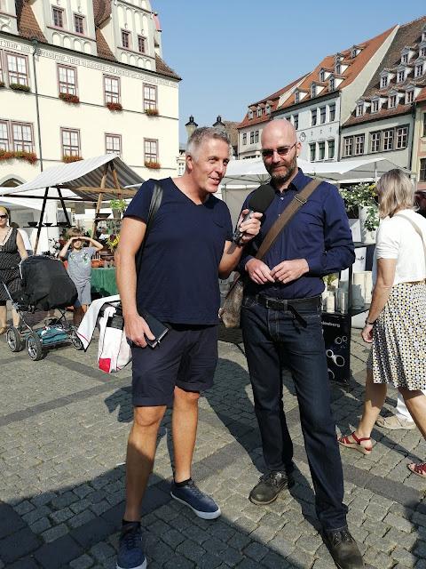 Radioreise Podcast in Mitteldeutschland unterwegs