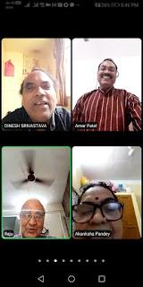 #JaunpurLive : वरिष्ठ साहित्यकार डाॅ. श्रीभगवान तिवारी के जन्मदिन पर कजरी महोत्सव संपन्न