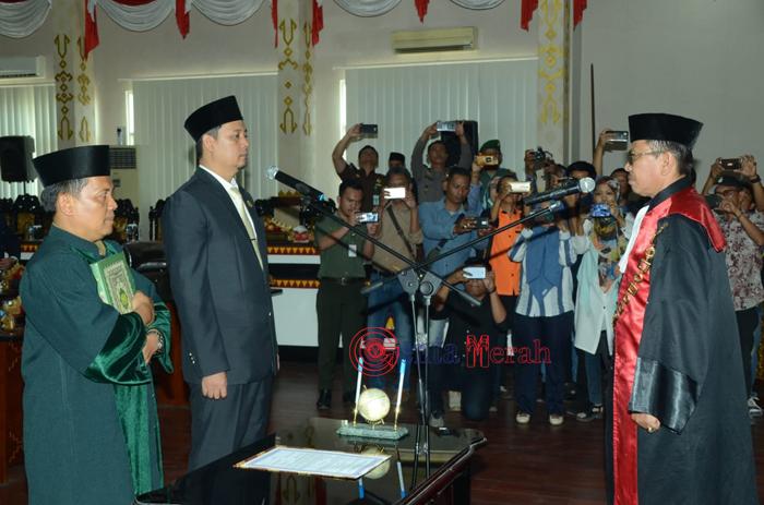 Tondi MGN Ditetapkan Sebagai Ketua DPRD Kota Metro, Sumpah Janji Digelar Dalam Paripurna