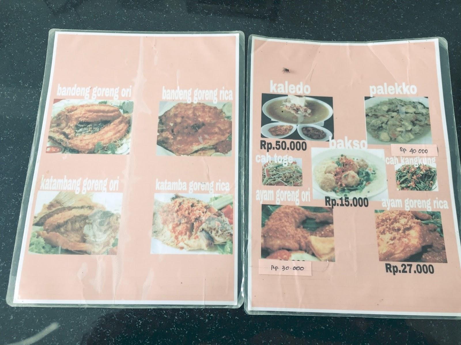 Emas Mutiara Kaledo Makanan Khas Palu Di Kabupaten Maros