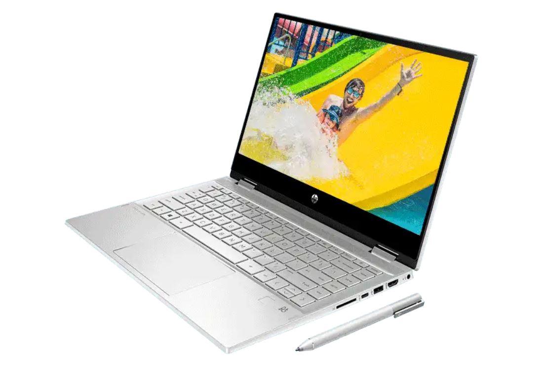 Harga dan Spesifikasi HP Pavilion x360 14 dw1022TU Bertenaga Intel Core i3 11th Gen