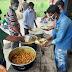 कोरेंटिन सेंटर में श्रमिकों को आज चिकन चावल तथा अंडा कडी परोसा गया