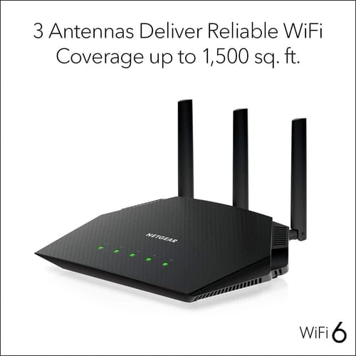 NETGEAR R6700AX 4-Stream WiFi 6 Router