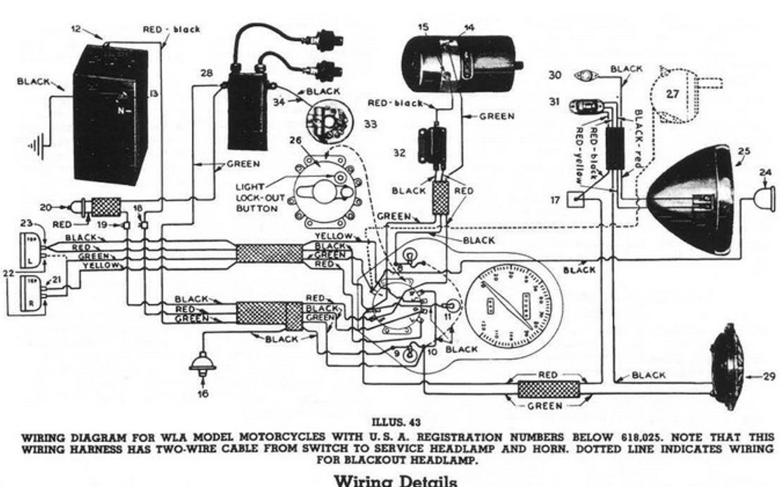1941 Harley Davidson WL Restoration