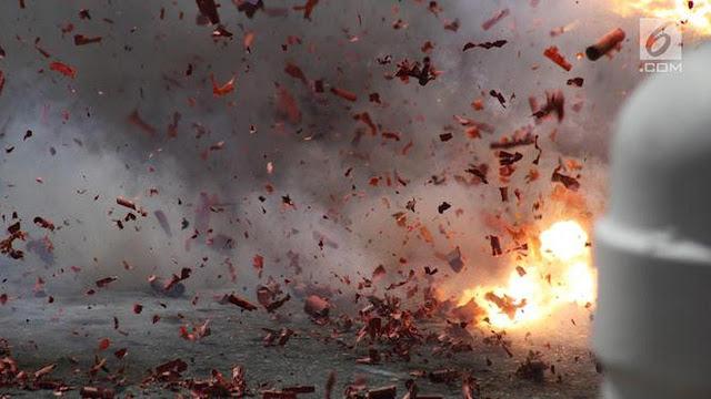 Teroris Di Sibolga Kembali Beraksi Dengan Bom Bunuh Diri
