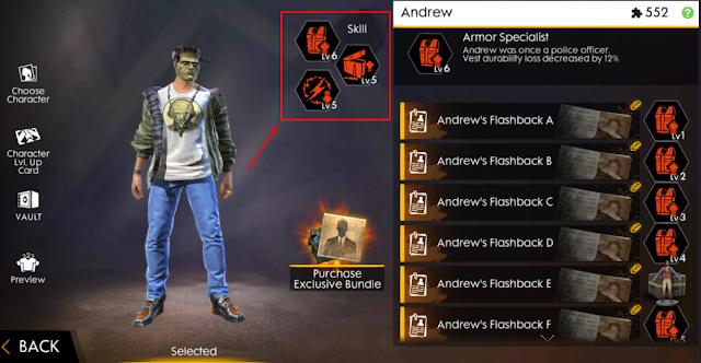 Penambahan Skill Slot 4 Karakter Free Fire Apakah Kalian Setuju ?