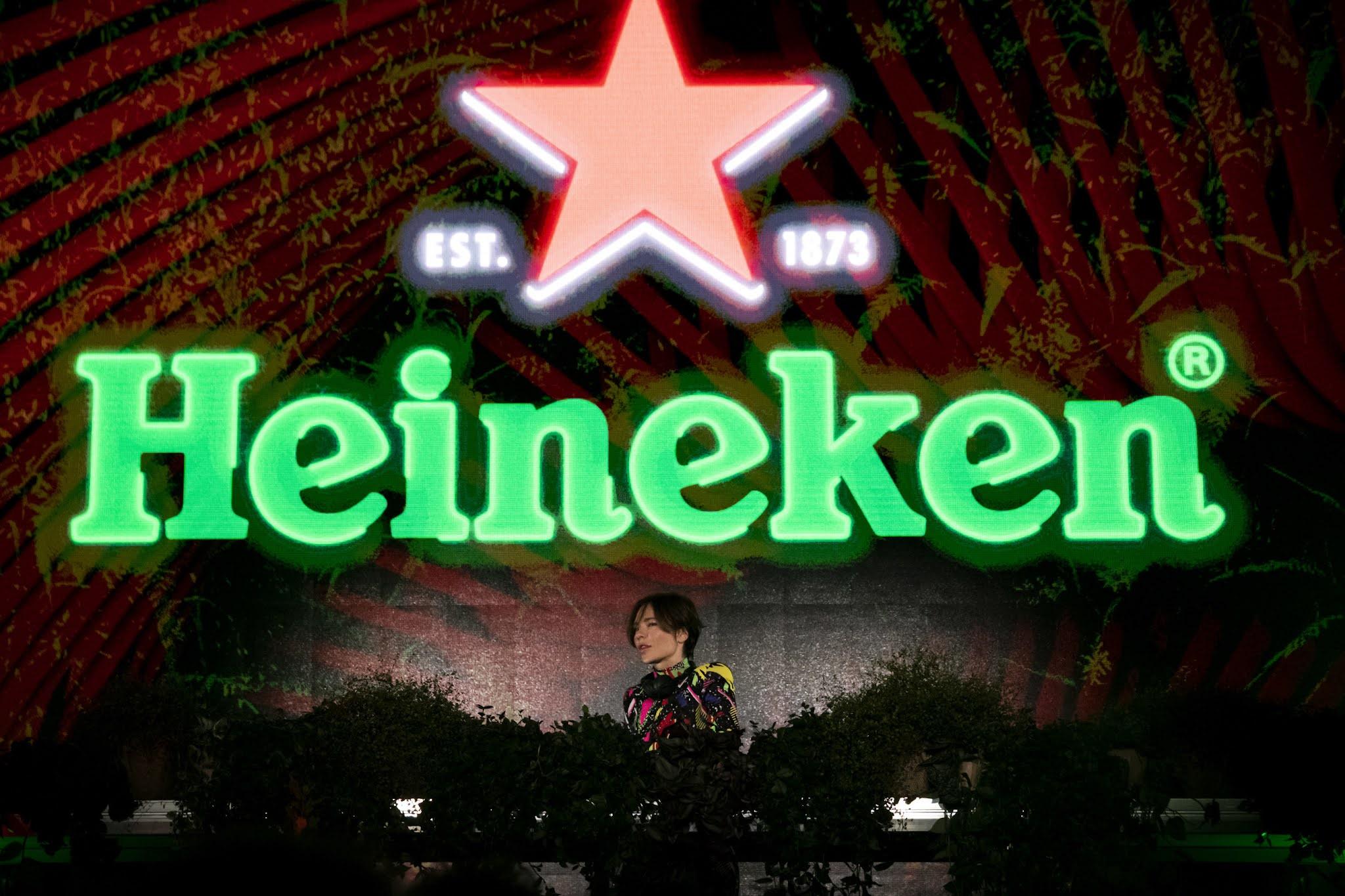 Nina Kraviz kicked-off the Formula 1 Heineken Gran Premio d'Italia 2021 weekend in style