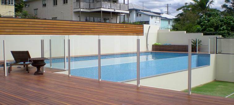 Glass Pool Fence frameless glass pool fence | glass fence new york - custom glass