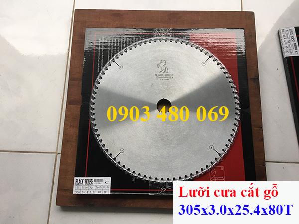 Lưỡi cưa Black Horse 305x3.0x25.4x80T