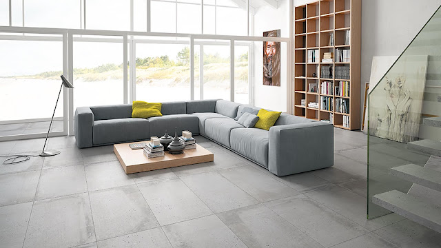 Tiles design images of Build series - A collection inspired by industrail cement