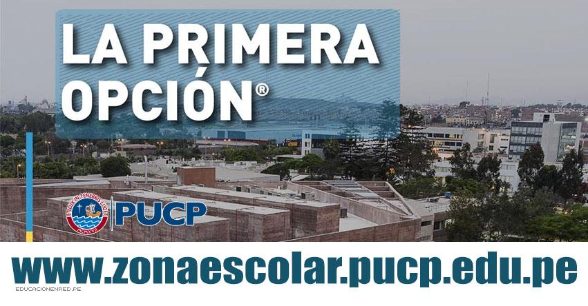 Resultados PUCP Primera Opción 2018 (11 Noviembre) Zona Escolar - Examen de Admisión - 5To. Secundaria - Pontificia Universidad Católica del Perú - www.pucp.edu.pe