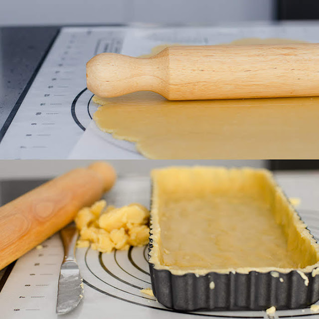 crumbly short crust pastry
