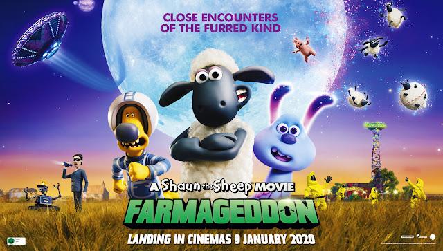 Win a family pass to see Shaun the Sheep: Farmageddon