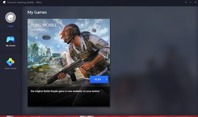 Tencent gaming Buddy Emulator PUBG