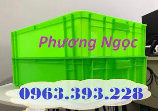 Sóng nhựa bít HS007, thùng nhựa đặc công nghiệp, thùng nhựa đặc có nắp, thùng nh C970eb7be5ec1eb247fd