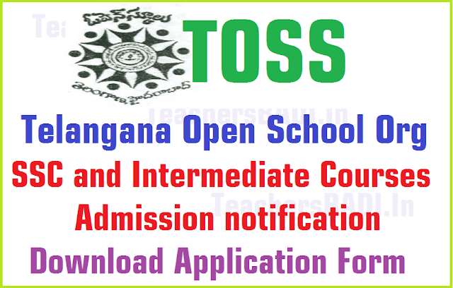 TOSS,SSC,Inter Admissions