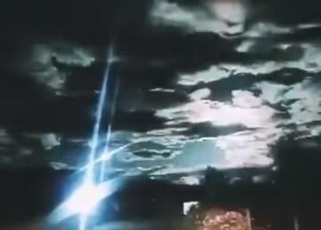 Метеорит над Китаєм