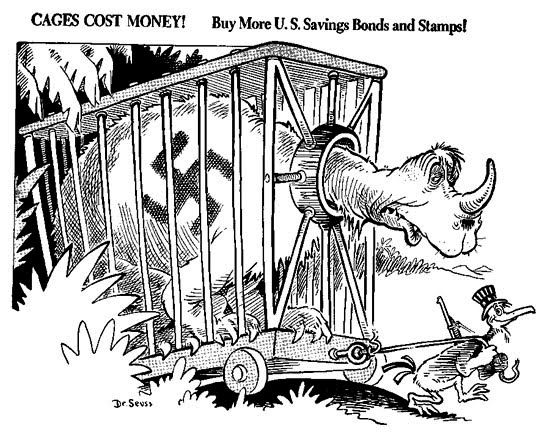 Primary Source Seminar Dr Suess Went To War