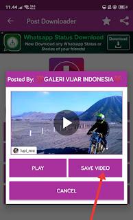 cara menyimpan video dari ig ke galeri hp 4