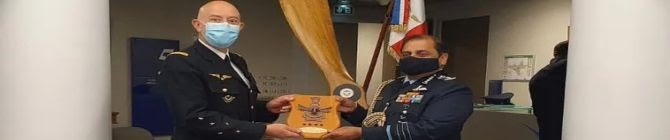 IAF Chief RKS Bhadauria Holds Talks With French Air Force Chief
