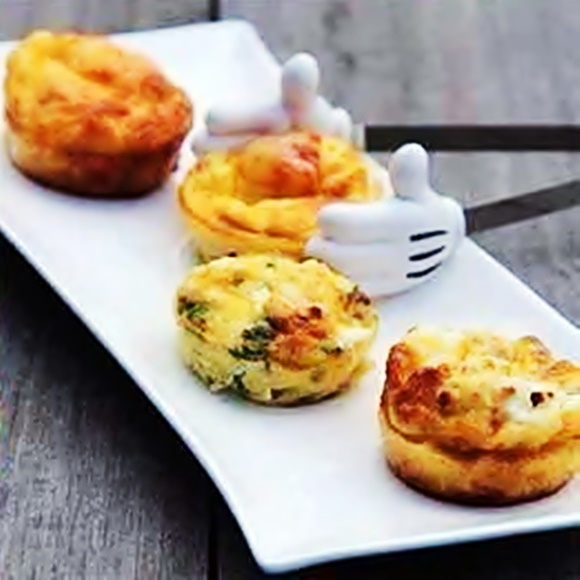 Cupcakes Omelette