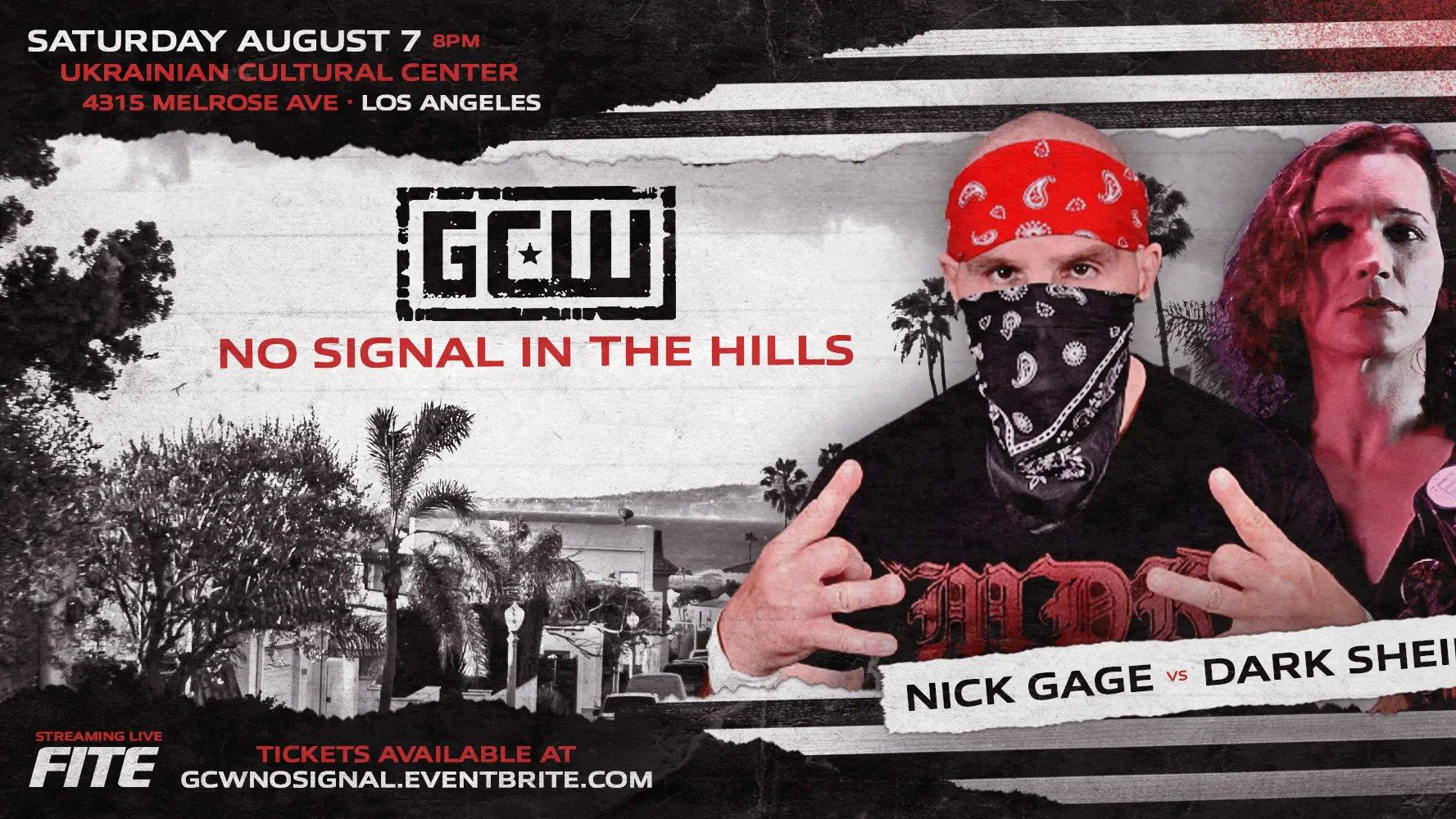 Cobertura: GCW No Signal In The Hills 2021 – Insano!