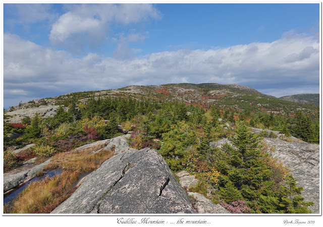 Cadillac Mountain: ... the mountain...