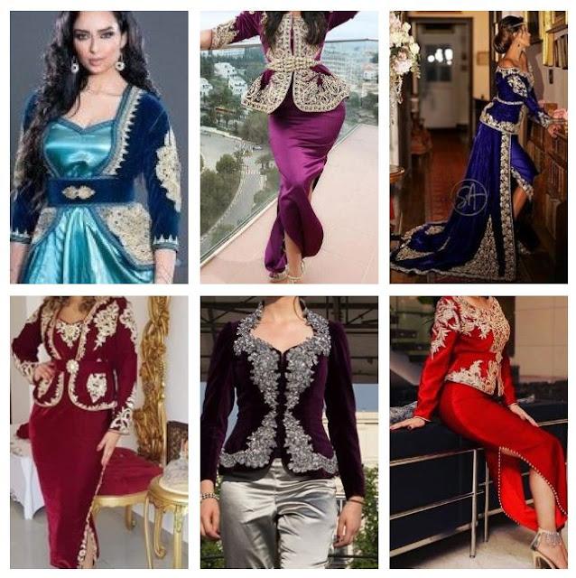 اجدد موديلات كاراكو الجزائري لسنة  2020- ملابس تصديرة العروس