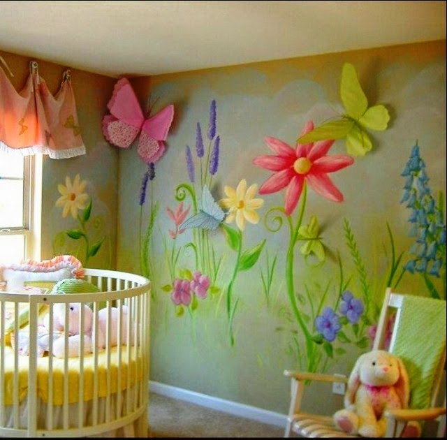 wall paint ideas for baby room