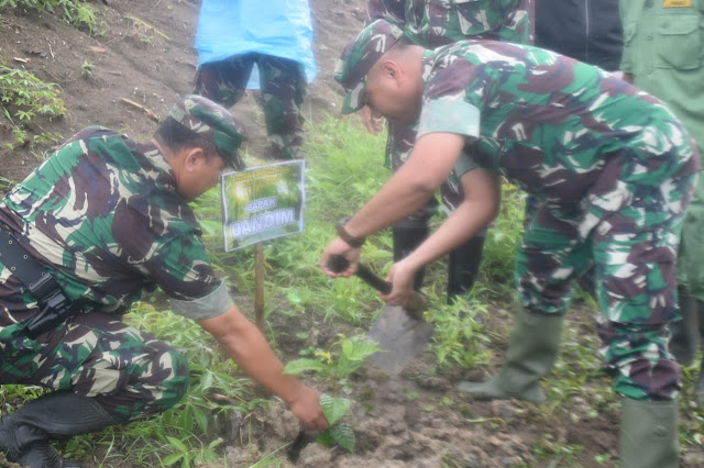 Dandim Demak: Menanam Pohon Bisa Mencegah Bencana Banjir Dan Tanah Longsor