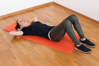 how to do crunches properly