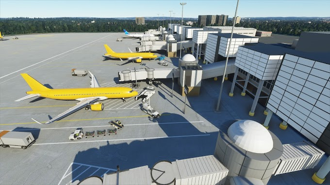 Update! MSFS2020 - EGKK Gatwick Airport Scenery , England - V.5.0 [4K]
