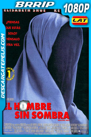 El hombre sin sombra (2000) 1080p BRrip Latino – Ingles