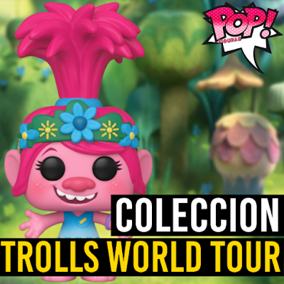 Lista de figuras Funko POP Trolls World Tour