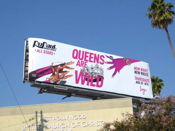 Queens are wild RuPauls Drag Race All Stars 2 billboard