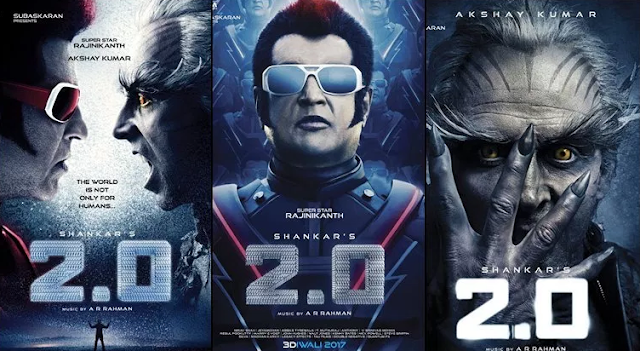 Finally, Robot 2 (2.0) Movie First looks Poster is Launched.